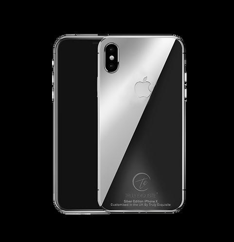 Luxury Platinum Plated iPhone X