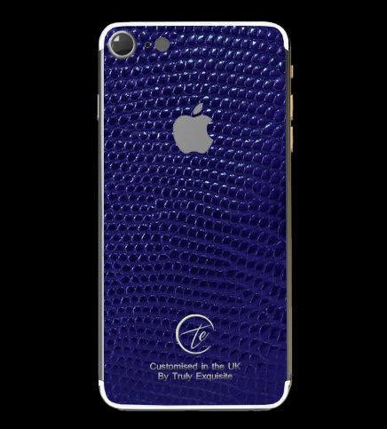 Platinum Blue Lizard Edition iPhone 7
