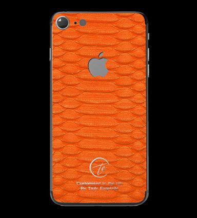 Platinum Orange Python Edition iPhone 7