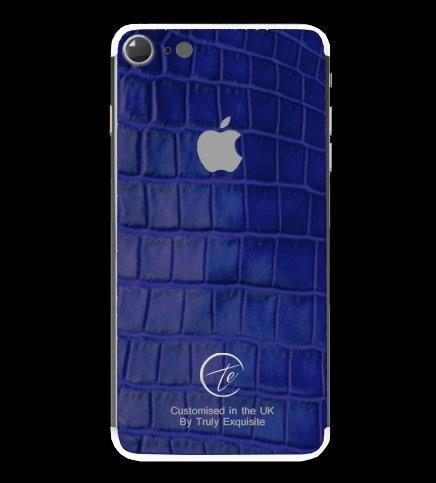 Platinum Blue Croco Edition iPhone 7