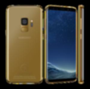 24k Gold Samsung Galaxy S9