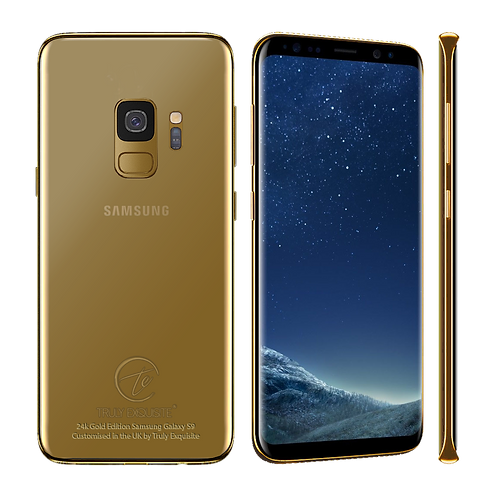 24k Gold Samsung Galaxy S9