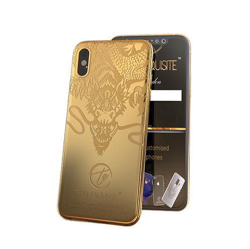 Luxury Limited Edition Dragon iPhone XS & XS Max
