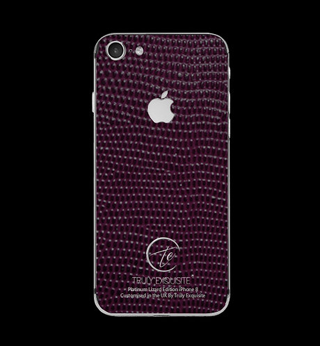 Platinum Purple Lizard Edition iPhone 8
