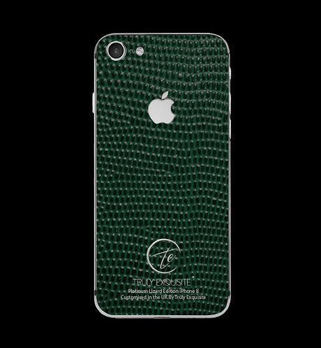 Platinum Green Lizard iPhone 8