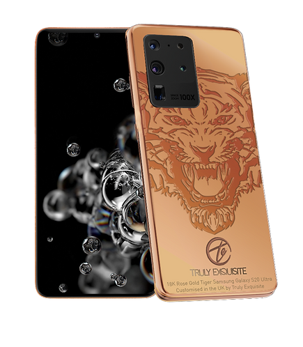 Luxury Plated Tiger Edition Samsung Galaxy S20 / S20+ / S20 Ultra (5G)