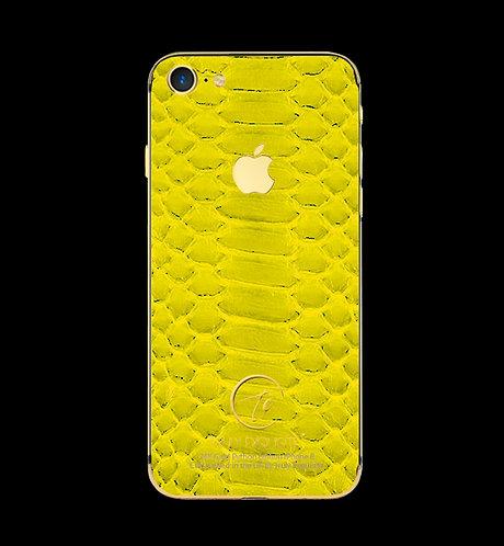 24K Gold Yellow Python Edition iPhone 8
