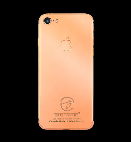 18K Rose Gold Plated iPhone 8