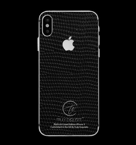Platinum Black Lizard Edition iPhone X