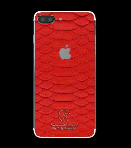 Platinum Red Python Edition iPhone 7 Plus