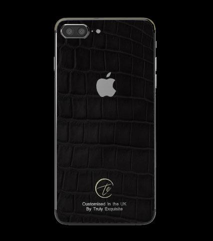 Platinum Black Croco Edition iPhone 7 Plus
