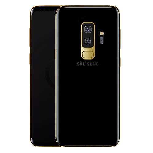 24K Gold Plated Frame Samsung Galaxy S9 Plus