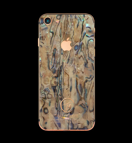18K Rose Gold Mother of Pearl iPhone 8