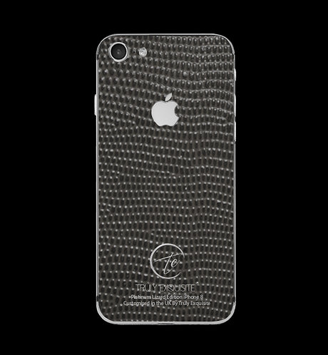 Platinum Grey Lizard Edition iPhone 8