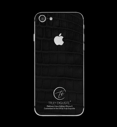 Platinum Black Croco Edition iPhone 8