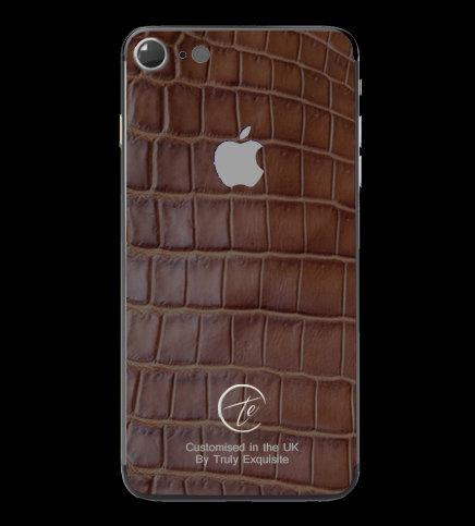 Platinum Brown Croco Edition iPhone 7