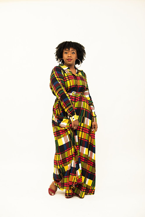 Dress Of Many Colors Maxi