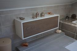 Meuble de salle de bain en frene 1