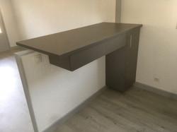 Mélaminé gris métallique 2