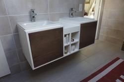 Meuble de salle de bain en frene 2