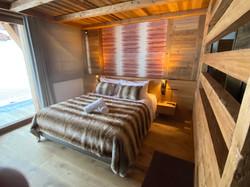 Tete de lit chene et vieux bois