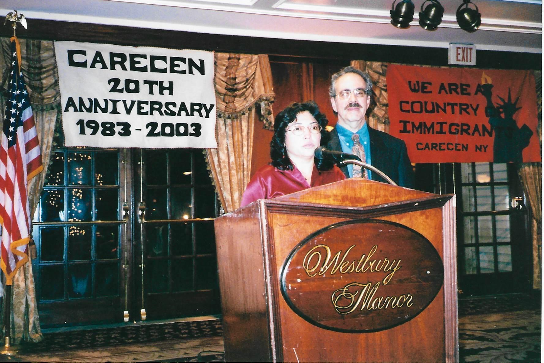 CARECEN Gala 2003 - 20th anniv