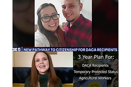 Fox 5: New Pathway to Citizenship for DACA Recipients