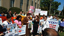 News 12 Long Island: Demonstrators Ask Police to Say 'No' to ICE, Rebuild Trust