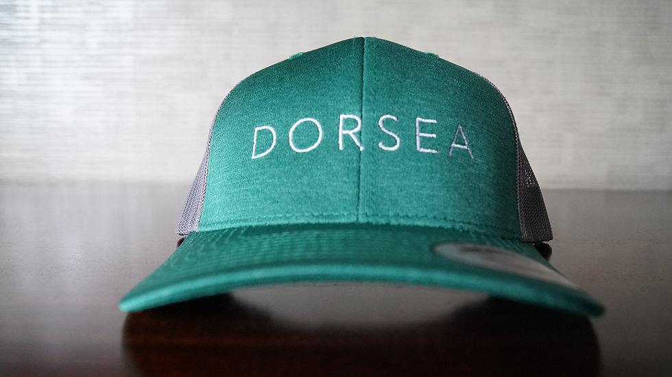 Dorsea Trucker Hat (Green Machine)