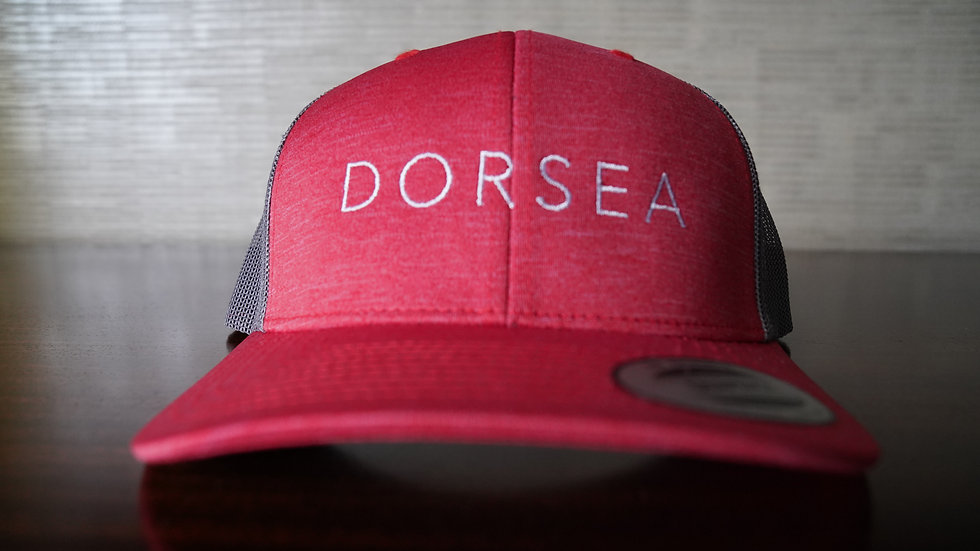 Dorsea Trucker Hat (Red)