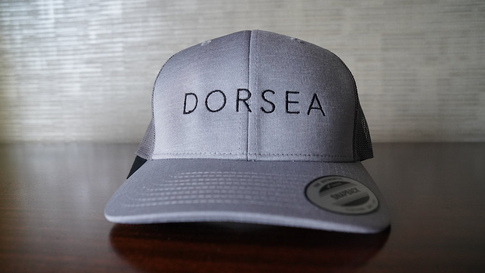 Dorsea Trucker Hat (Silver)
