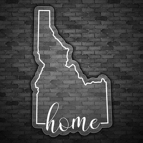 Idaho Home Decal