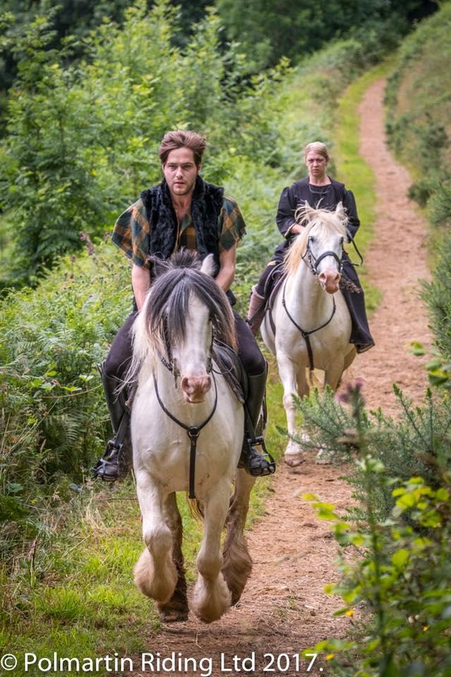 Scott on horse
