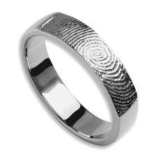 Fingerabdruck Ringe