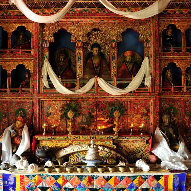 Family Shrine, Gangtey Palace Paro