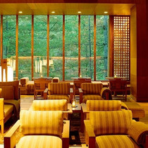 The living room at the Thimphu Amankora Lodge