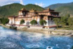 Punakha Dzong in Western Bhutan