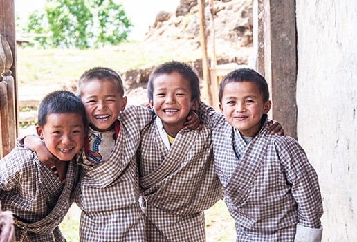 Laughing Schoolboys