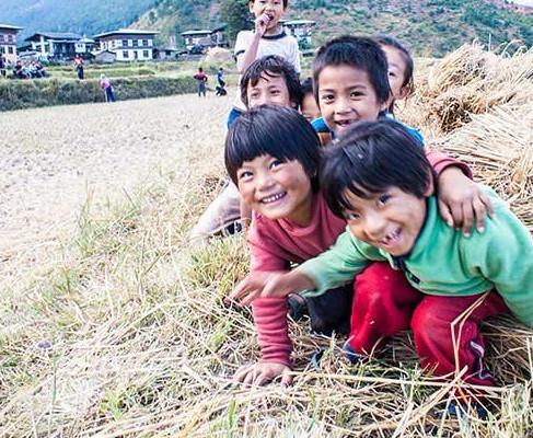 A Bhutanese goodbye