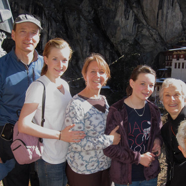 Bauhaus family at Tiger's Nest