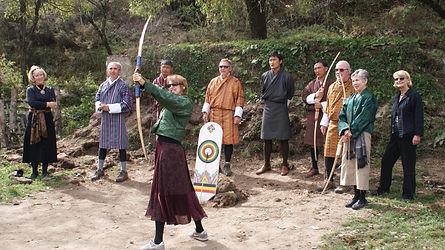 guests-enjoying-traditional-archery-bhut