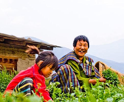 BhutanAdopts Organic Farming Nationwide