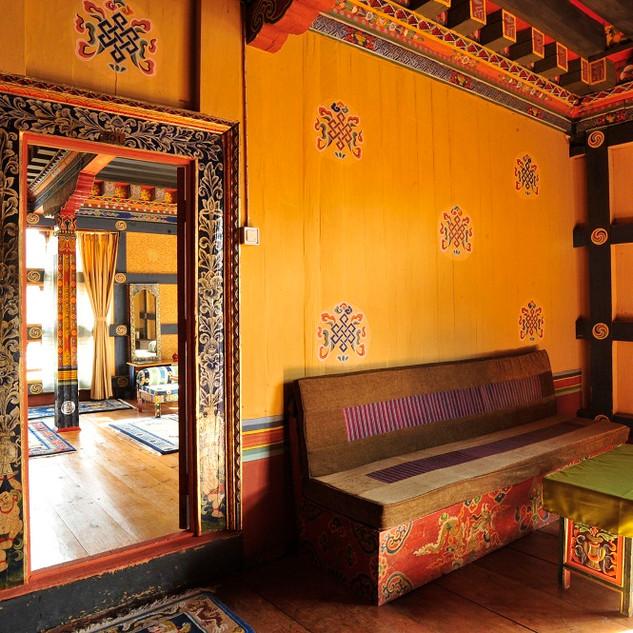 Interior View, Gangtey Palace