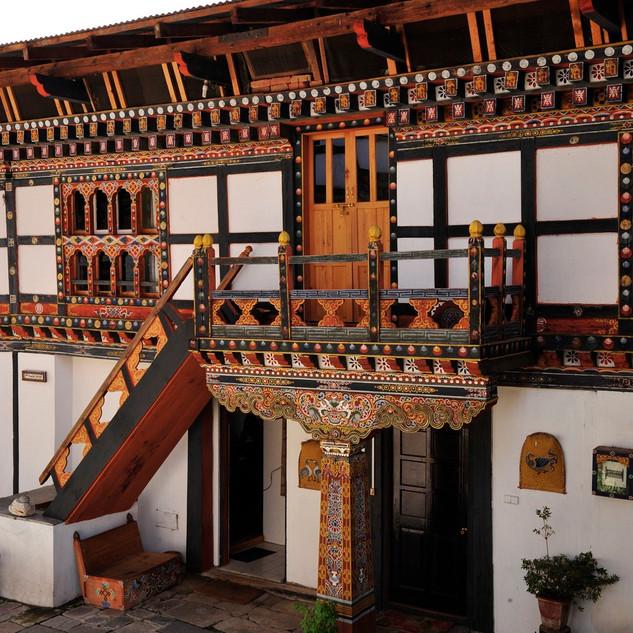 Gangtey Palace, Outer Building