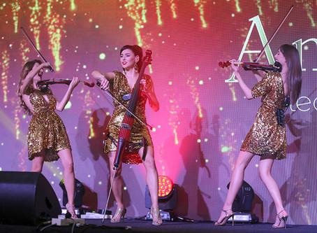 Amadeus Electric Quartet @ Scientex - 50th Anniversary, Kuala Lumpur.