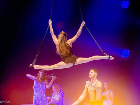 Gymnastics on Amadeus' Live Music