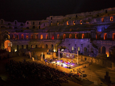 Amadeus Electric Quartet & Band @ EL JEM - International Festival - Tunisia