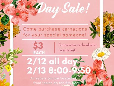 We're extending carnation sales!