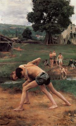 Alkimedon di Egina,lottatore ragazzo