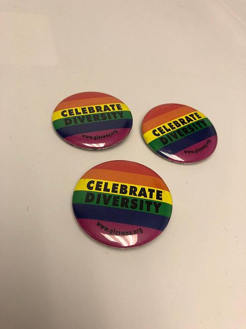 """Celebrate Diversity"" Button"